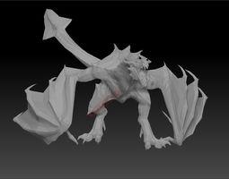 3D Dragon SkyRim
