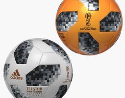 3D model Soccer Balls 2018