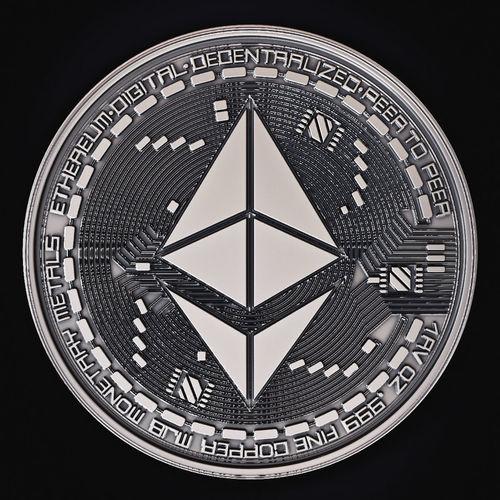 ethereum coin 3d model max obj mtl fbx stl ztl 1