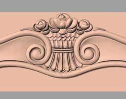 CNC 3D relief models STL format file game-ready 4