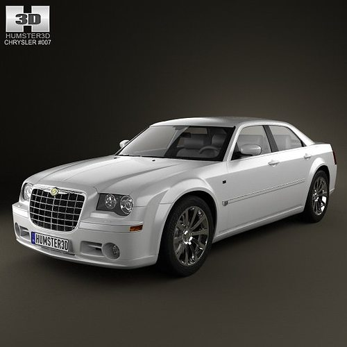 3D Model Chrysler 300C Sedan 2009
