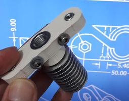 3D print model Lightweight precise J-Head connector