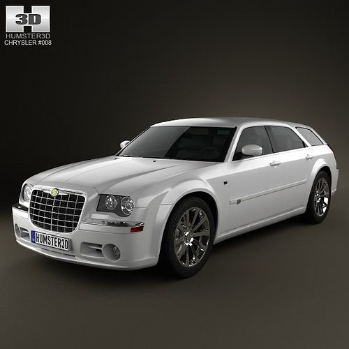Chrysler 300C Wagon 2009 3D