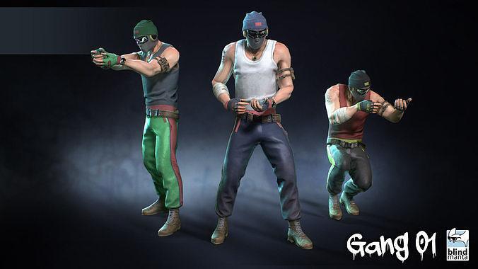 Male Gang 01