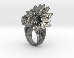 Quetzal Ring 3D printable model