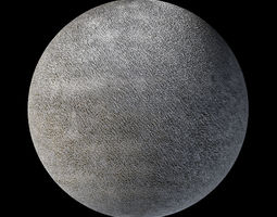 Grey Fabric Tileable 3D Texture