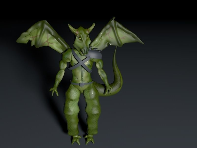 Demon- Custom 3d model