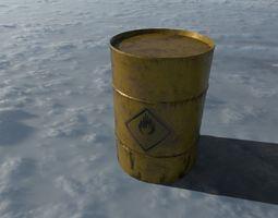 3D model Ultimate Industrial Barrel Pack