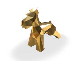 Schnauzer dog figure 3D printable model