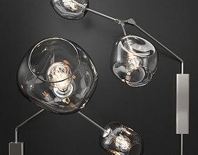 3D model Bra Branching bubble by Lindsey Adelman CLEAR