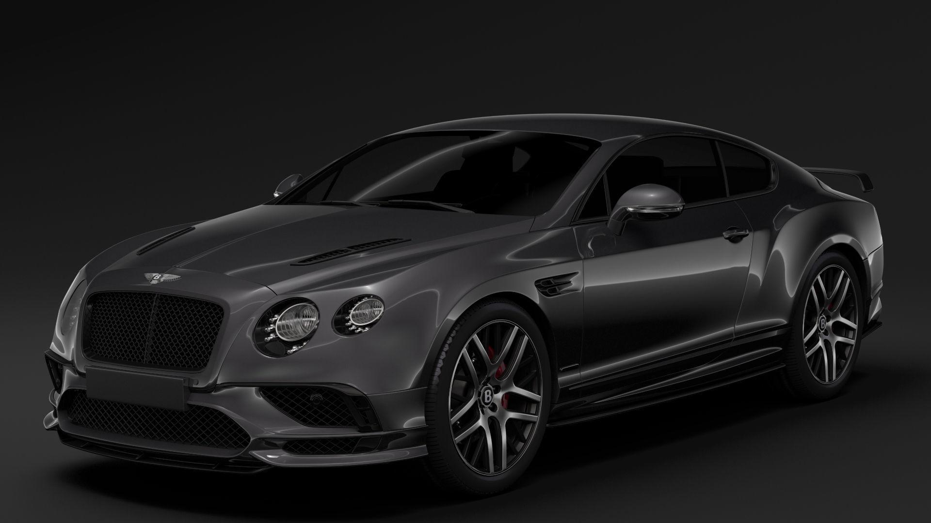 Bentley Continental Supersport 2018