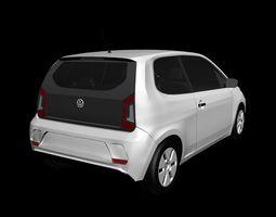 Volkswagen UP 2017 3-door 3D model