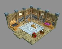 3D model Gang Indoor - Warehouse