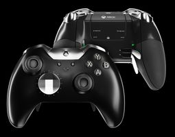 XBOX ONE ELITE WIRELESS CONTROLLER 3D model