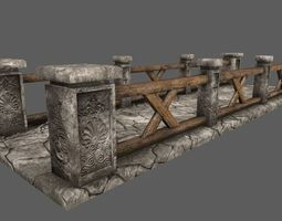 3D model bridge 3