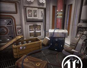 3D asset Sci Fi Interior Prop Pack 1
