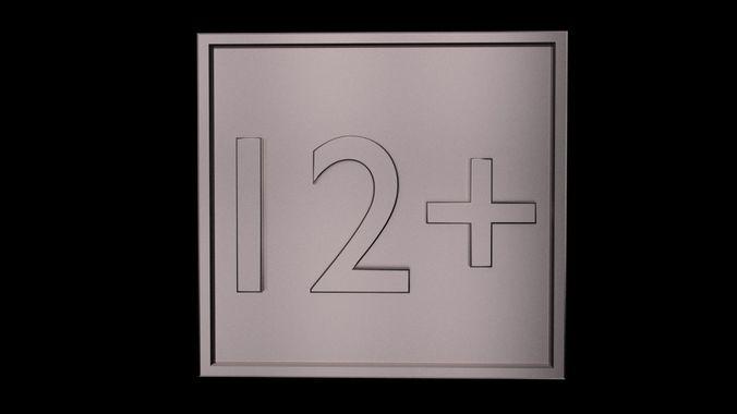 twelve plus 1 3d model obj mtl 3ds fbx stl blend x3d 1