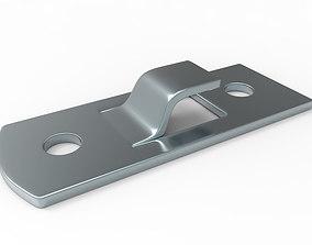 3D model Metal part