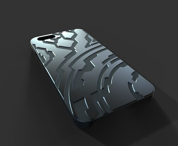 iphone 6 printer 3d print model iphone 6 halo cgtrader 11388