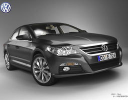 VW Passat CC 3D Model