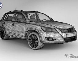 VW Tiguan 3D Model