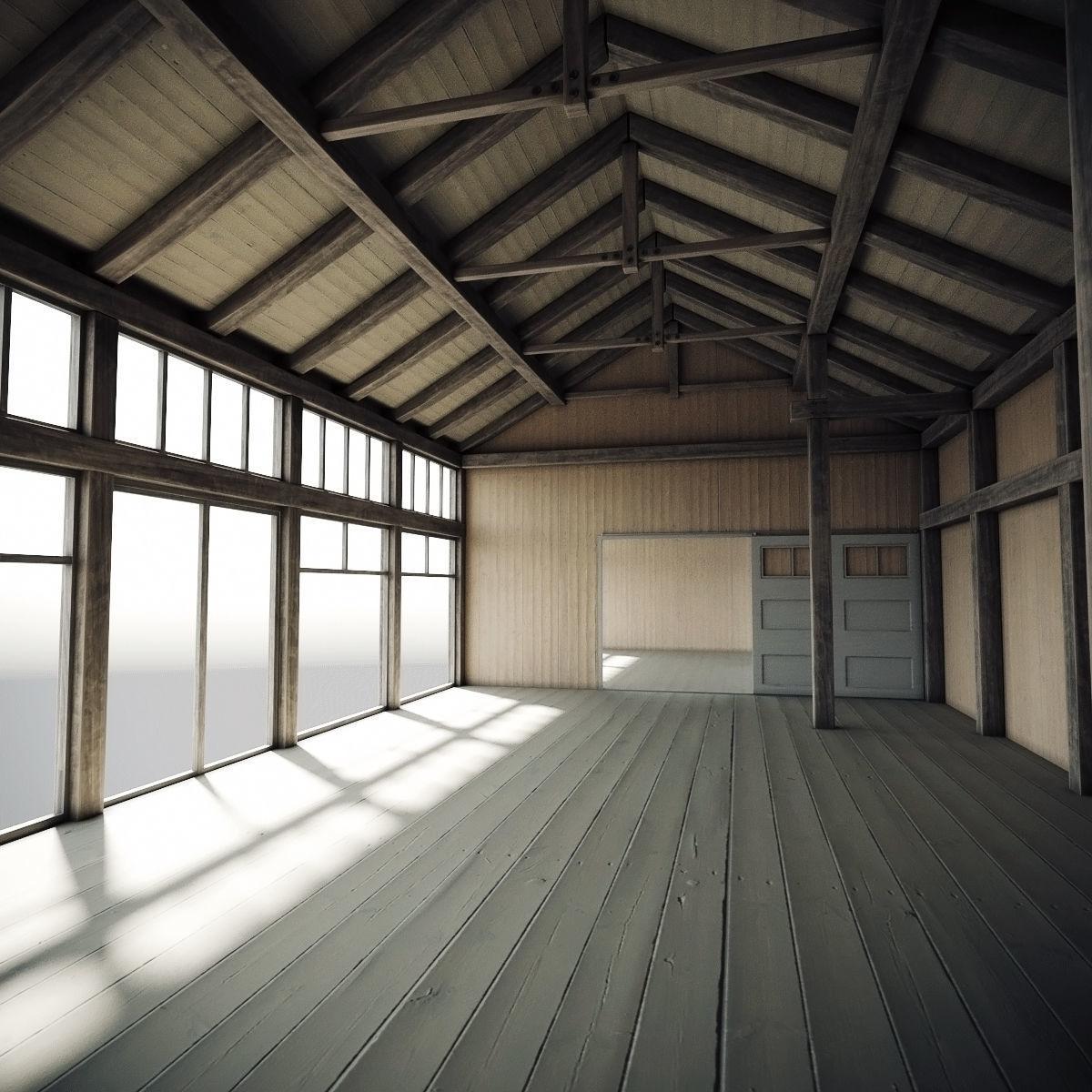 Wooden Hangar