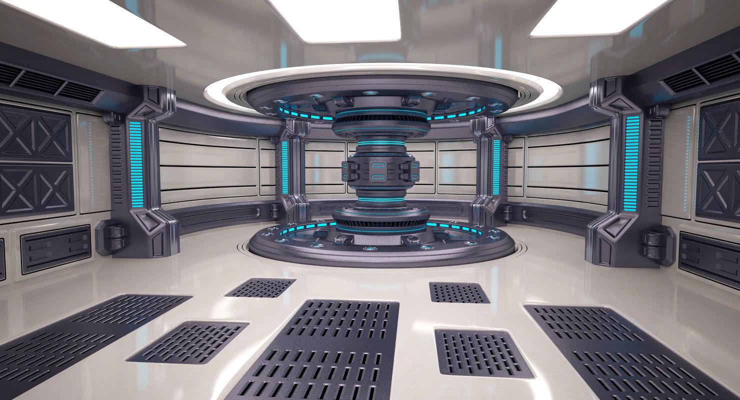 Energy Generator Room | 3D model