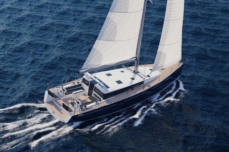 Sailboat Beneteau Sense 50 Yacht