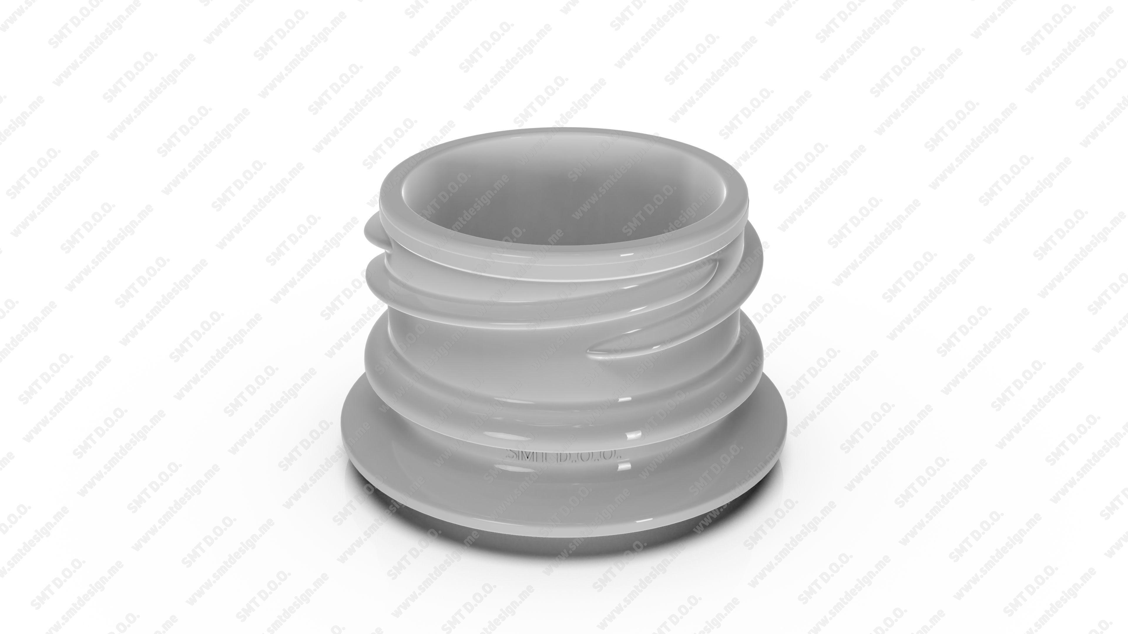 Neck for bottles - Obrist - 28 18 mm