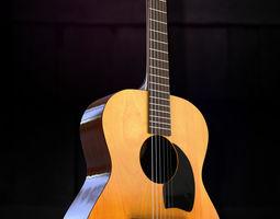 3D Ibanez style acoustic guitar