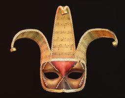 model Venetian Mask 3D
