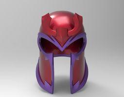 Magneto Comic Helmet for 3D Printing