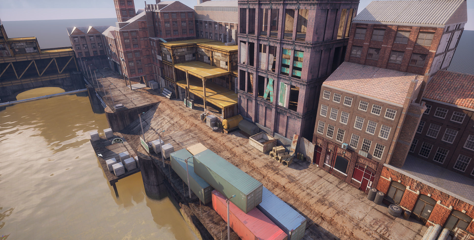Industrial District Modular Pack