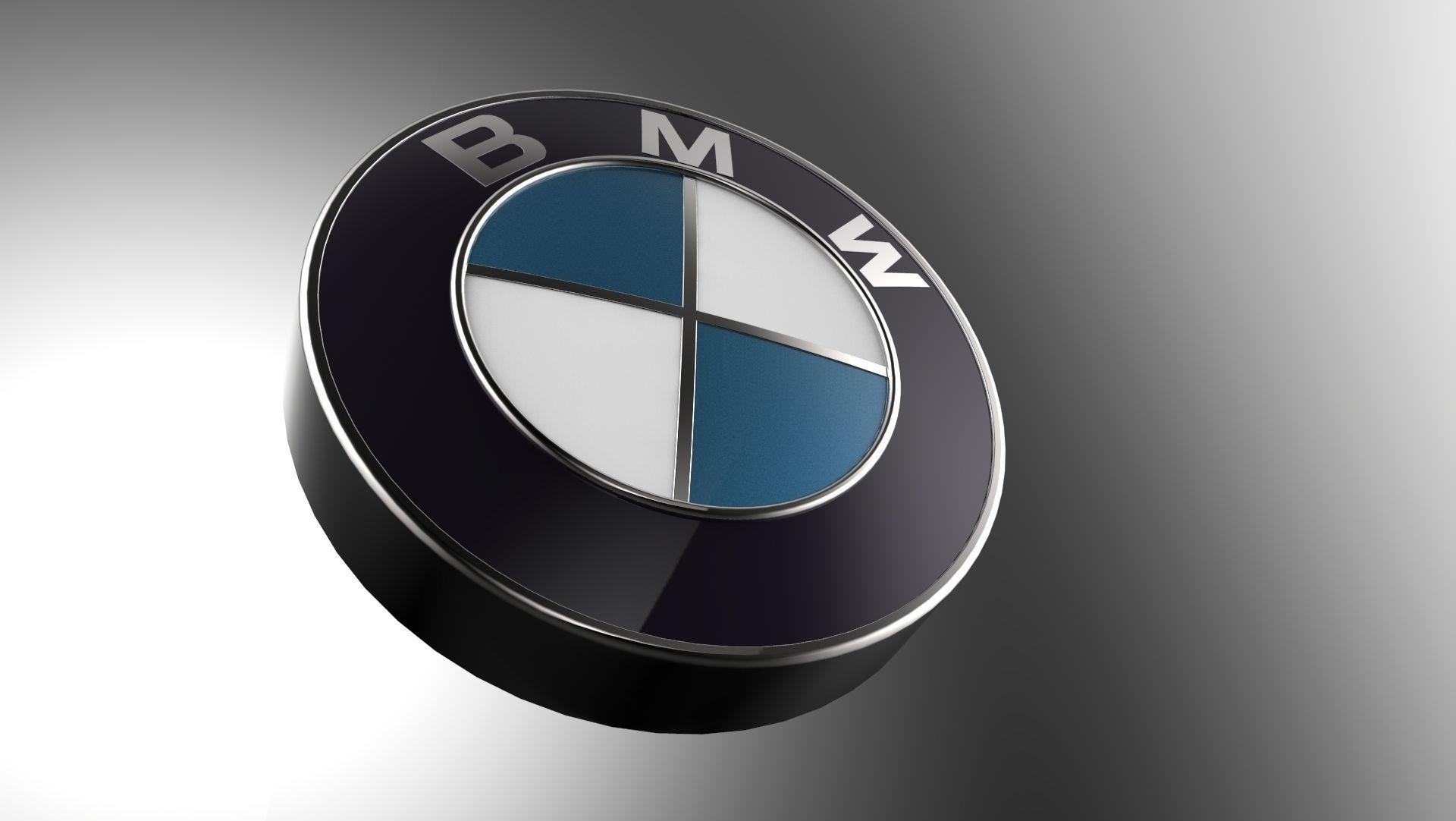 Bmw Logo 3d Modelnot Decal 3d Model Obj Stl Sldprt Sldasm