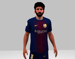 Lionel Messi 3D