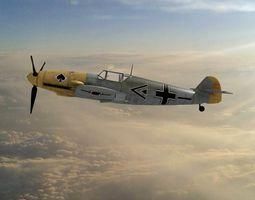 3D model bf Messerschmitt Bf 109