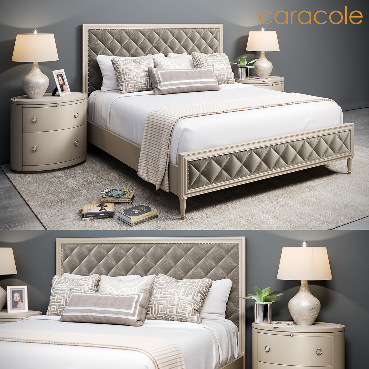 Caracole Bed