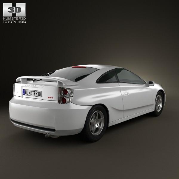 Toyota Celica Coupe 1600 Gt: Toyota Celica GT-S 2006 3D Model .max .obj .3ds .fbx .c4d