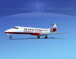 3D Embraer ERJ-140 Quicklink