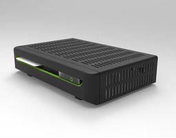 DVB Receiver 3D model