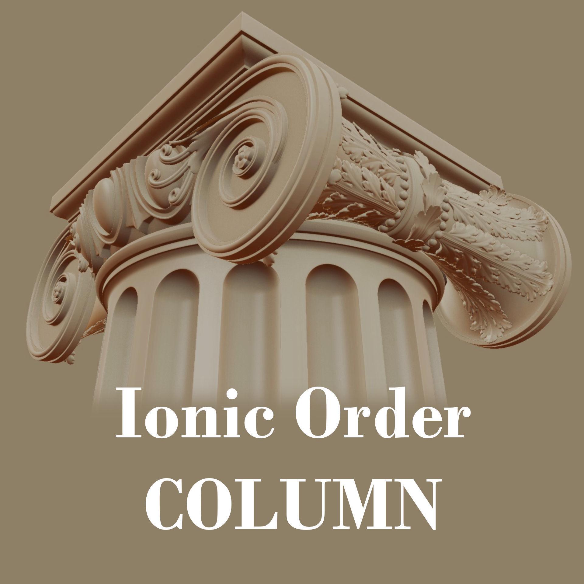 Ionic order - COLUMN