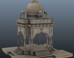 3D Gumbaz Low poly Game models