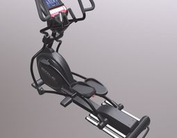 Exercise bike 3D asset