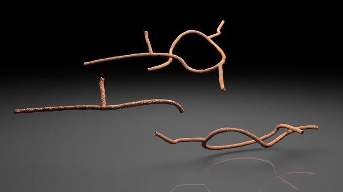 Microscopic Ebola Virus3D model