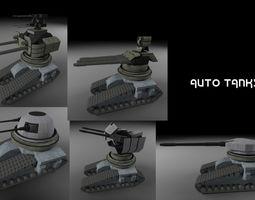 Drone Tanks 3D asset
