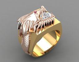 3D printable model 570 Dragon Ring