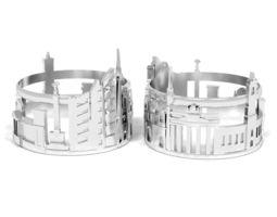 3D printable model Ring Berlin