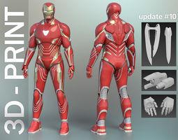 Iron Man Mark 48-50 Infinity War wearable 3D-Printable