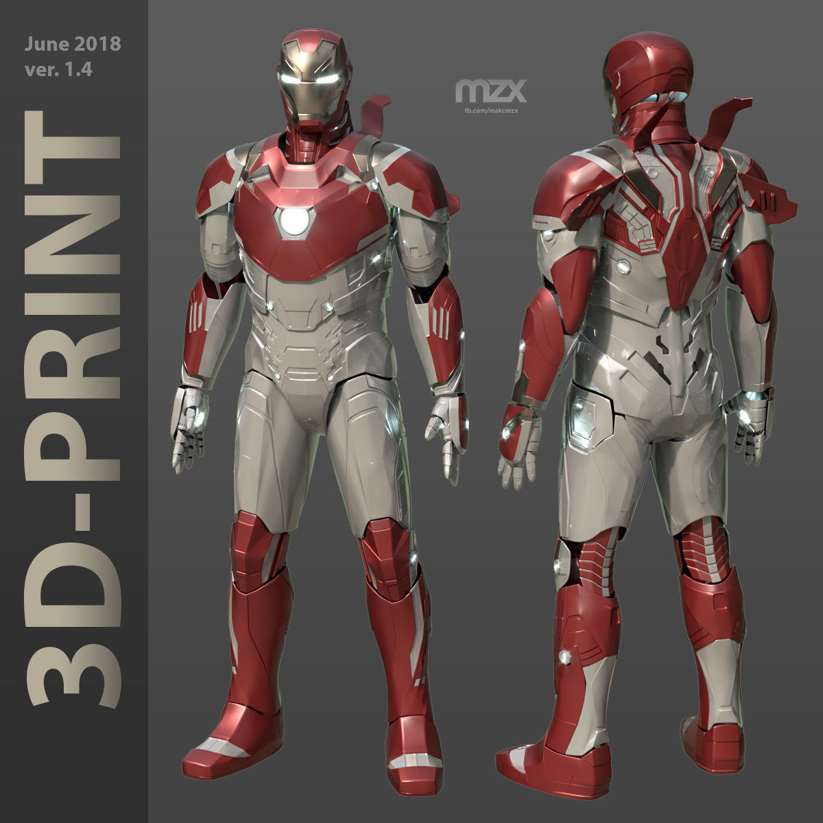 Iron Man Mark 46-47 Wearable suit