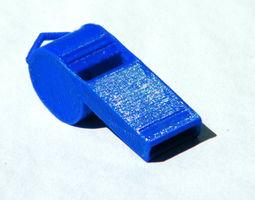 3D print model ALARM WHISTLE